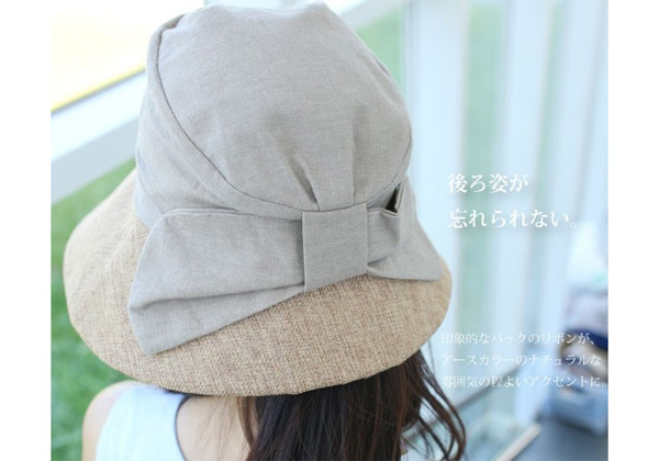 40代ファッションのおしゃれ帽子