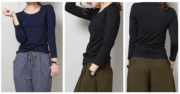 40代ファッションのプチプラコーデシャツ