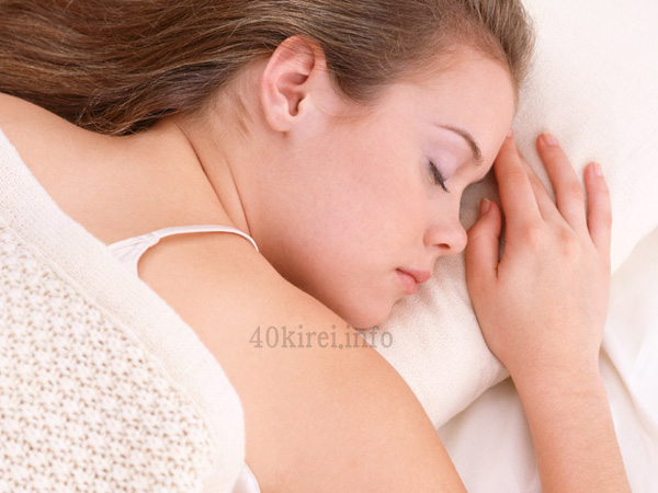 40代女性の睡眠