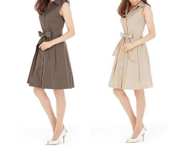 40代ミセスファッションの王道フレアワンピ
