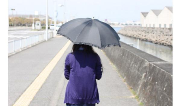 紫外線カット率99%以上の日傘