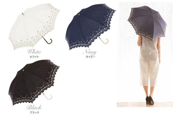 人気の折りたたみ日傘