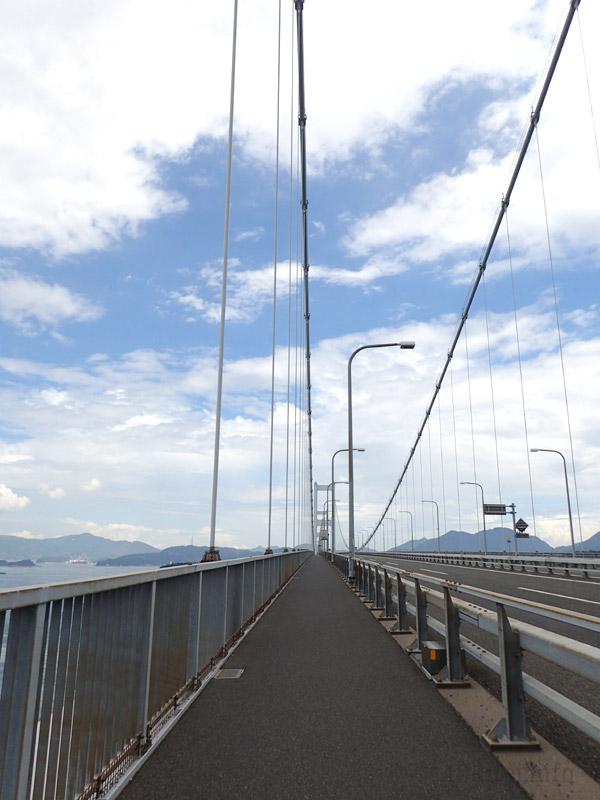 ドッペルギャンガーで来島海峡大橋を走る