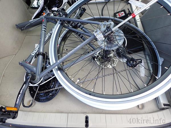 ドッペルギャンガーの折り畳み自転車