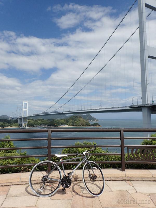 秋は瀬戸内しまなみ海道サイクリング
