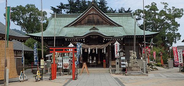 しまなみ海道の大山神社