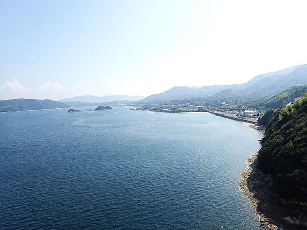美しい景観の瀬戸内しまなみ海道