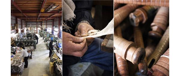 工房織座のストール