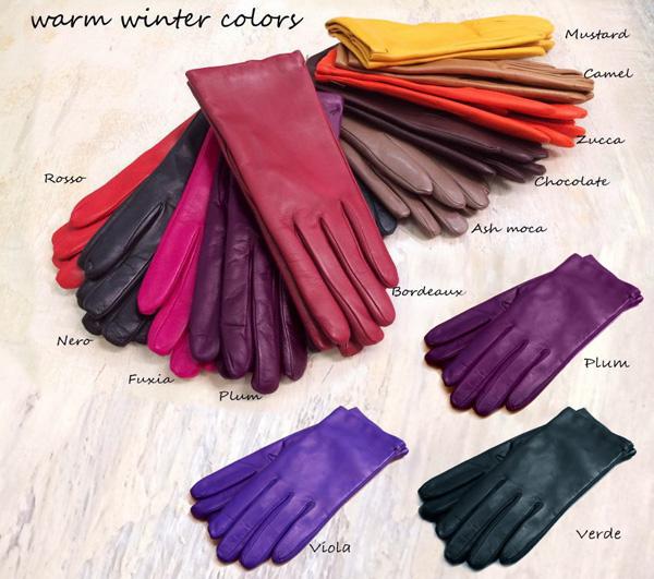 とろけるような柔らかさのイタリア製レザー手袋