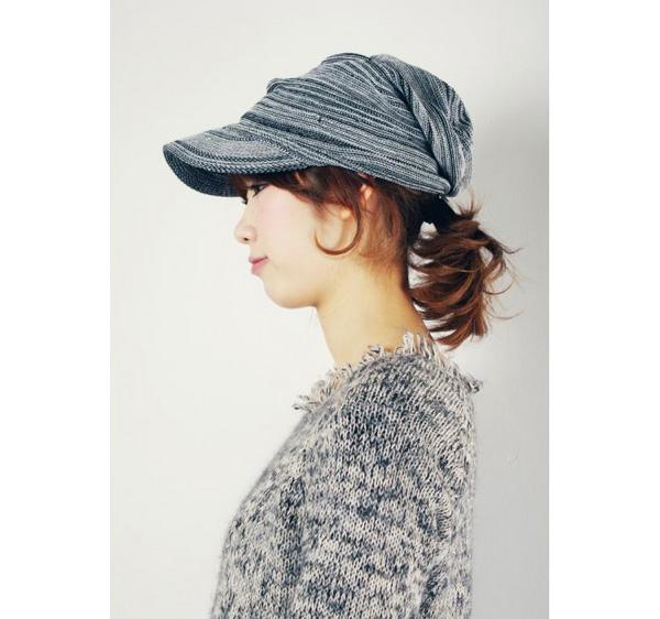 40代に人気のオシャレなコットンニット帽