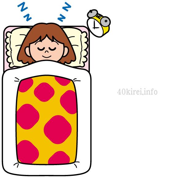就寝中にアロマを楽しみたいとき