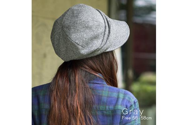 360℃美シルエットのオシャレ帽子