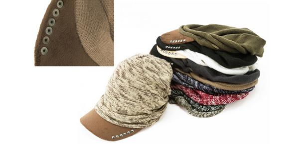 40代春ファッション!人気のオシャレ帽子