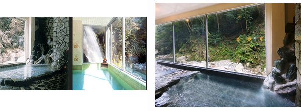 鈍川温泉の銭湯
