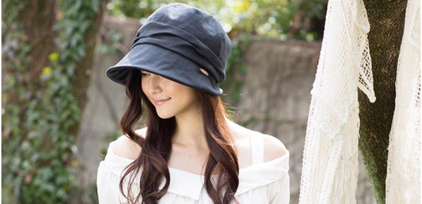 人気のオシャレ帽子