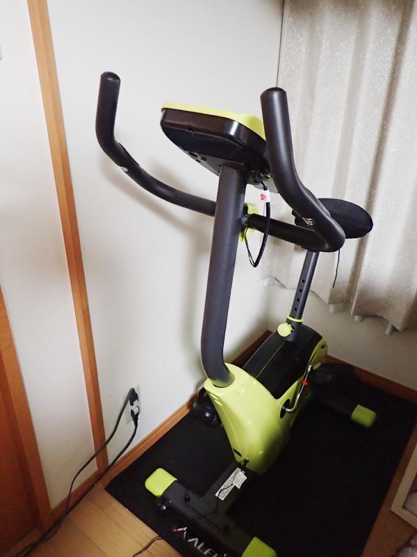 花粉症対策にダイエット自転車